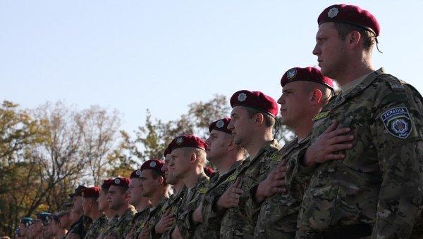 Военнослужащие Украины, участники АТО