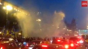 Марш в честь годовщины УПА в центре Киева