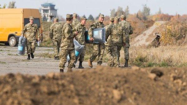 Военнослужащие в зоне АТО