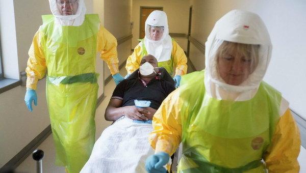 Больной Эболой