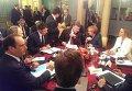 Встреча европейских лидеров, Петра Порошенко и Владимира Путина в Милане