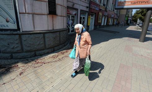 Ситуация в Донецке. Архивное фото