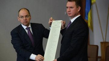 Демонстрация процесса печати избирательных бюллетеней