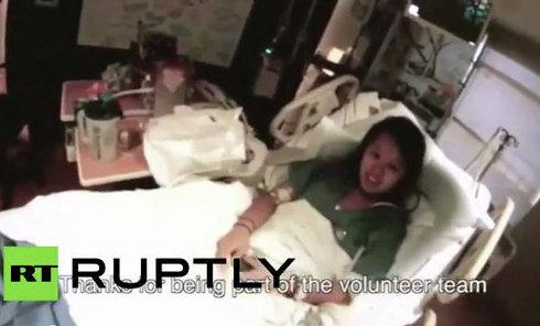 Видео из палаты зараженной вирусом Эбола медсестры в США