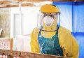Борьба с Эболой. Архивное фото