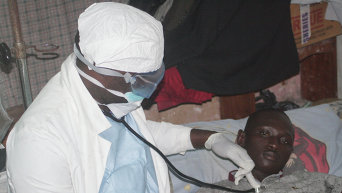 Прекращение распространения вируса Эбола в Либерии