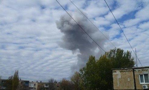 Обстрел Донецка, 20 октября 2014