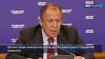 Лавров прокомментировал слова министра обороны США об армии РФ на пороге НАТО. Видео