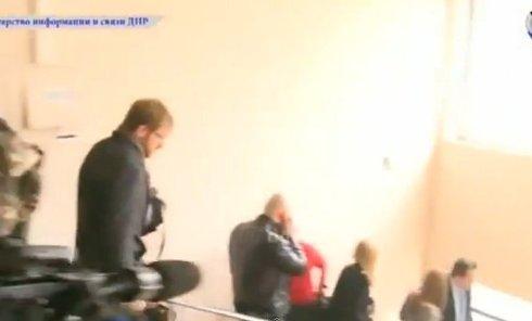 Взрыв прервал встречу прервал встречу лидеров ополчения. Видео
