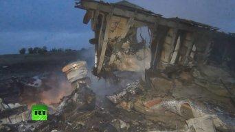 Разведcлужба ФРГ обвиняет ополченцев в крушении малайзийского Boeing. Видео