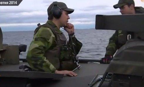 В Швеции продолжаются поиски иностранной подлодки. Видео