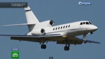 Крушение легкомоторного самолета Фалькон на аэродроме во Внуково. Видео
