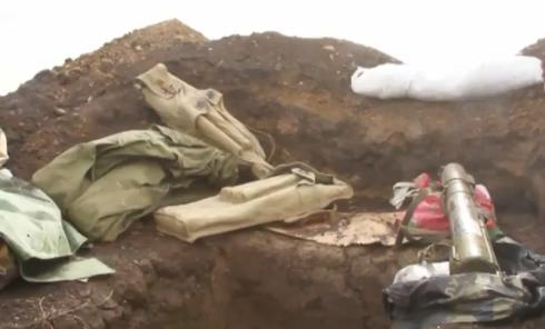 Украинские войска в 70 километрах от Донецка. Видео
