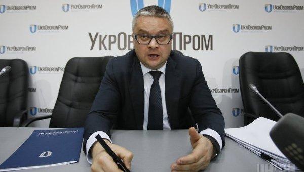 Роман Романов. Руководитель Укроборонпрома