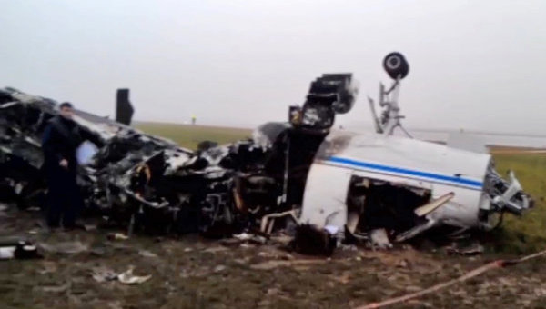 Легкомоторный самолет Falcon разбился во Внуково.
