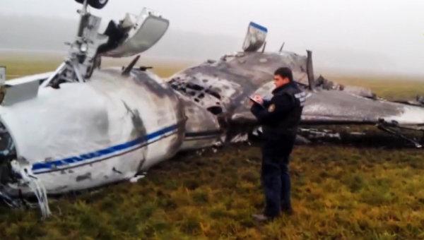 Легкомоторный самолет Falcon разбился во Внуково. Архивное фото