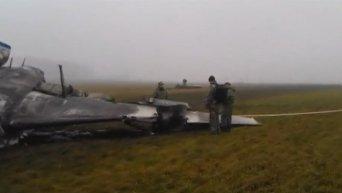 На месте авиакатастрофы во Внуково проводится расследование. Видео