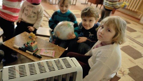 Отопление в детском саду. Архивное фото