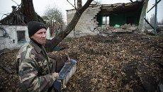 Ситуация на окраине Донецка. Архивное фото