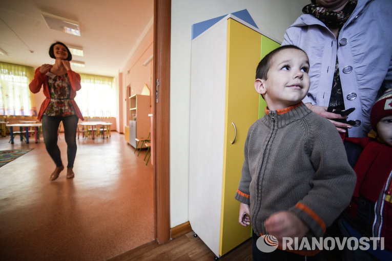 Открытие нового дошкольного учебного заведения Мечта
