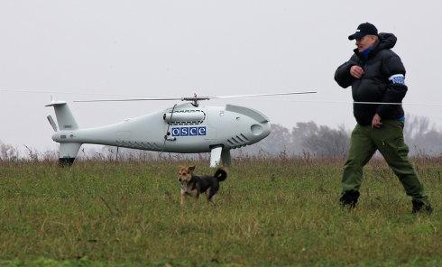 ОБСЕ наблюдает за территориями в зоне Ато с помощью специальных мини-самолетиков