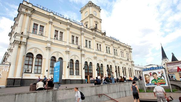 Ленинградский вокзал Москвы