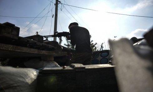 Жизнь и быт подразделений Вооруженных сил Украины в поселке Пески
