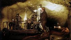 Шахтеры в одной из шахт. Архивное фото