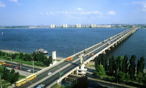 Автомобильный мост через Днепр