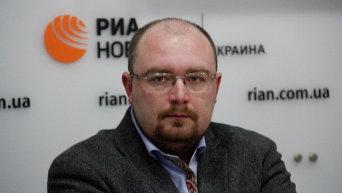 Директор Украинского филиала Института стран СНГ Денис Денисов.
