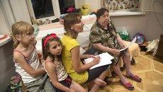 Беженцы из Украины в Ростове-на-Дону. Архивное фото