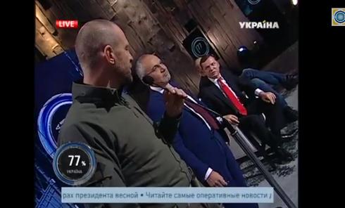 Комбаты Семенченко и Тетерук чуть не подрались с Ляшко. Видео