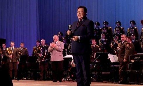Иосиф Кобзон выступил с концертом в Донецке. Видео