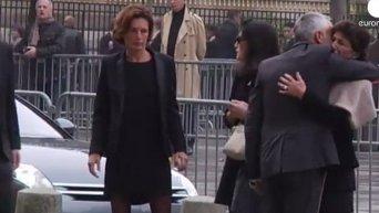 В Париже проводили в последний путь Кристофа де Маржери. Видео
