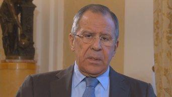 Лавров: России будет с кем разговаривать в Верховной Раде. Видео
