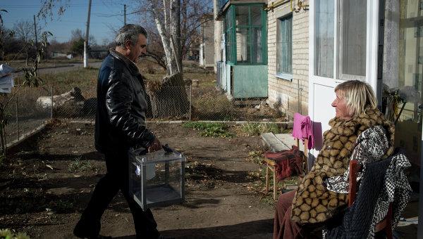 Ситуация в ЛНР. Архивное фото
