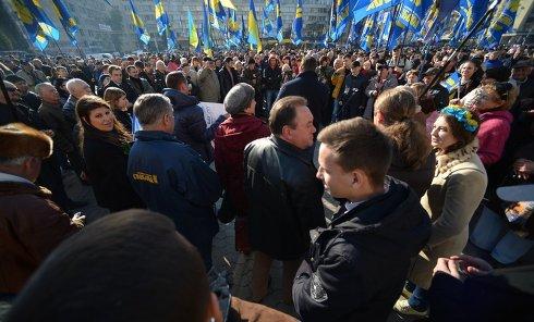 """Митинг """"Свободы"""" у здания ЦИК"""