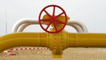 Вентиль задвижки газовой линии. Архивное фото