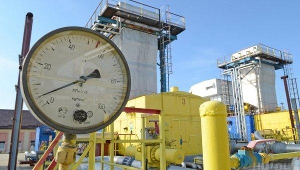 Газовое хранилище. Архивное