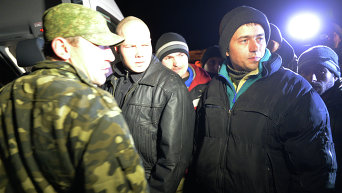 В пригороде Донецка состоялся обмен пленными