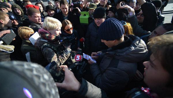 Задержание журналистки Змановской