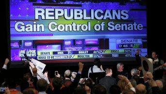 Выборы в сенат США - сторонники республиканцев