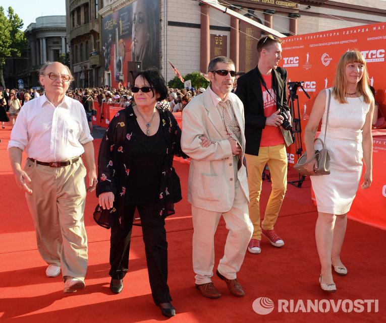 Кира Муратова (вторая справа). Архивное фото