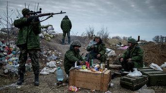 Ополченцы Луганска. Архивное фото