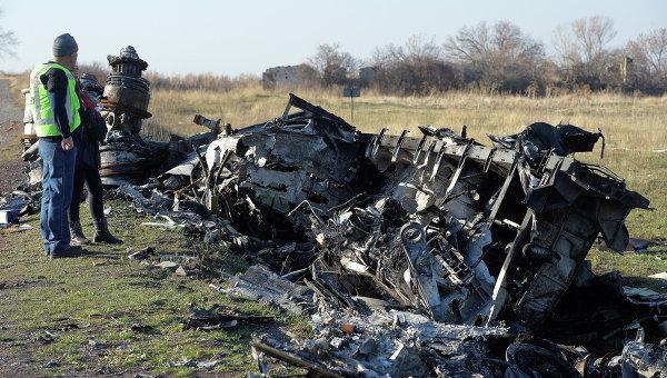 ОБСЕ вместе с экспертами из Голландии обследовали место падения Boeing