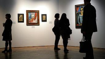 Выставка картин Пабло Пикассо. Архивное фото