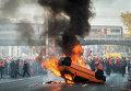 Протесты в Брюсселе (Бельгия)