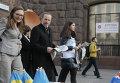 Глава МИД Дании прогулялся в Киеве по Майдану