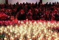Поминальная церемония по жертвам авиакатастрофы Boeing 777
