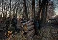 Ополченцы в Луганской области